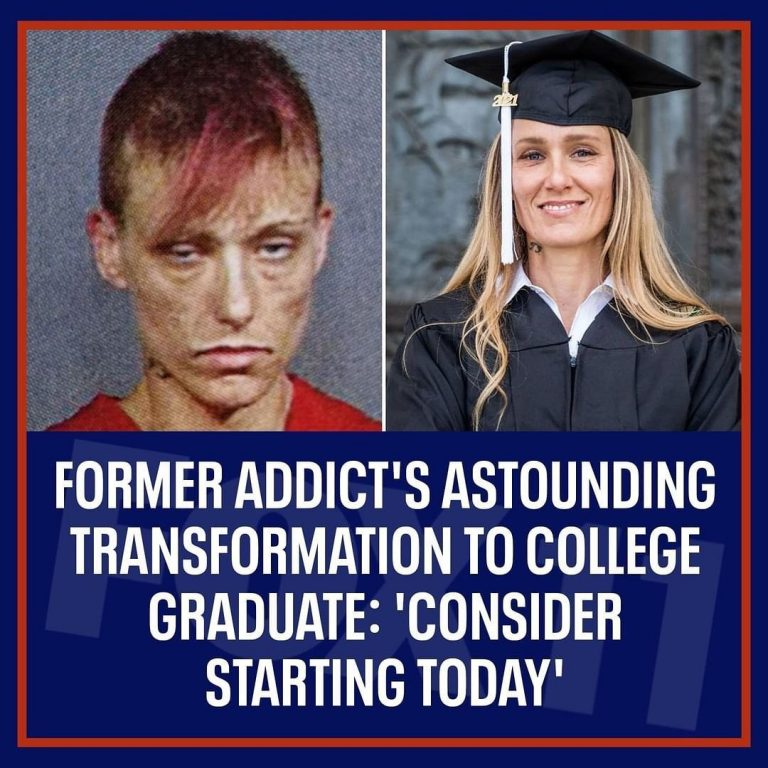 #Inspiring :Addict introduced to drugs by Mom at age 7,  graduates college